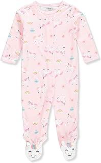 Carter's Baby Girls' Unicorn Snap-Up Cotton Sleep & Play