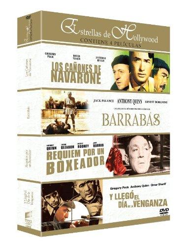 Barrabas/ Los Cañones De Navarone / Requiem Por Un Boxeador / Y Llegó El Día De La Venganza - Qua [DVD]