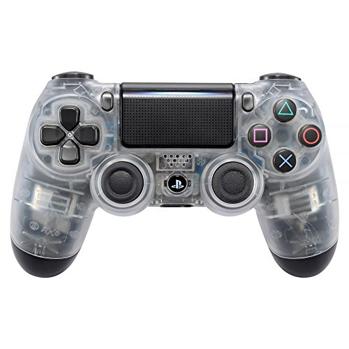 eXtremeRate PS4 Controller Schutzhülle Gehäuse Obere Case Hülle Cover Oberschale Skin Soft Touch Schale Shell für Playstation 4 PS4 Controller JDM-040 JDM-050 JDM-055(Transparent)