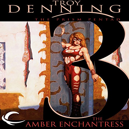 The Amber Enchantress audiobook cover art
