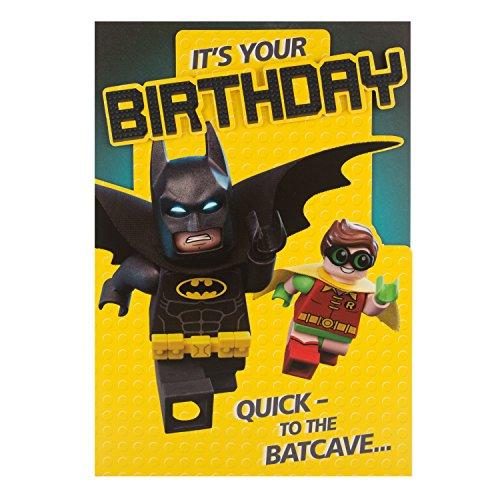 Hallmark Geburtstagskarte für LEGO Batman ', um die Batcave'–Medium