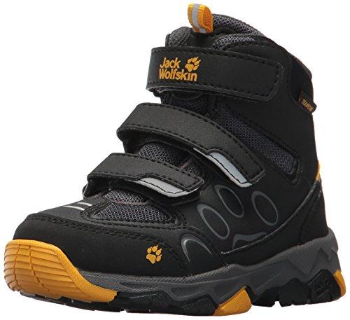 Jack Wolfskin Unisex-Kinder MTN ATTACK 2 TEXAPORE MID VC K Trekking- & Wanderhalbschuhe, Grau (burly yellow 3800), 29 EU