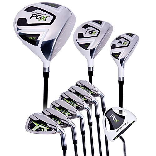 Pinemeadow Golf PGX 9pc Set + PGX Putter