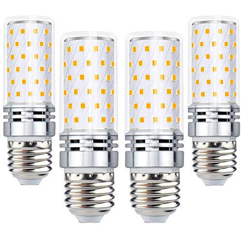 Bombillas LED de maíz de 12 W, Blanco cálido, E27, 12.00W 220.00V