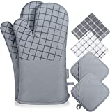 Best Oven Mitts - Koroda Oven Mitts and Pot Holders Sets: 550°F Review