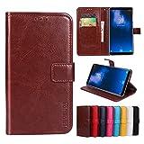 F&a® Flip Brieftasche Hülle für Homtom S8 (Muster 8)