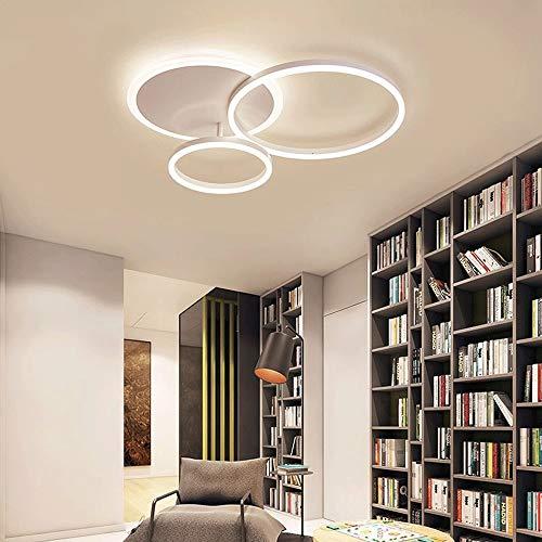 3-Light Floral Erröten-Einfassung Moderne LED-Leuchte Decke hängende Lampe Leuchter-Beleuchtung Moderne Pendelleuchte for Wohnzimmer Schlafzimmer Esszimmer Study Room Kinderzimmer SHIJIAN