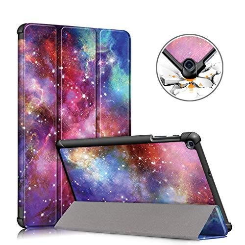 TOPCASE Custodia per Samsung Galaxy Tab A 10.1 SM-T510 T515 2019 Ultra-sottile Cover con Funzione Supporto,Galaxy