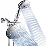 Product Image of the Dream Spa 3-way 8-Setting Rainfall Shower Head and Handheld Shower Combo (Chrome). Use Luxury 7-inch Rain Showerhead or 7-Function Hand Shower for Ultimate Spa Experience!
