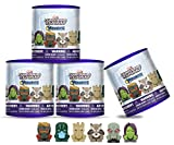 Mashems Mash'ems  Guardians of The Galaxy S1 (4 Pack), Multi