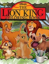 The Lion King Coloring Book: Lion King Jumbo Coloring Book With Premium Images For All Funs