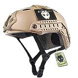 Worldshopping4U SWAT Combat PJ - Casco con maschera per Softair e Paintball