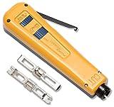 Fluke Networks 10051120 D914 Series Impact Punch Down Tool with EverSharp 110 & EverSharp 66 Blade