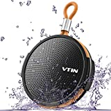 VTIN Royaler Bluetooth 4.0 Stereo Speaker Wireless, 10W Dual Drivers with Passive Radiator Subwoofer for iPhone, iPad, Samsung, Nexus, HTC, Etc