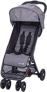 Safety 1st Teeny Cochecito ligero y compacto, Pesa solo 5,6 kg, Reclinable y Plegable con una sola mano, Silla de Paseo de viaje con bolsa de viaje includida, color Black Chic