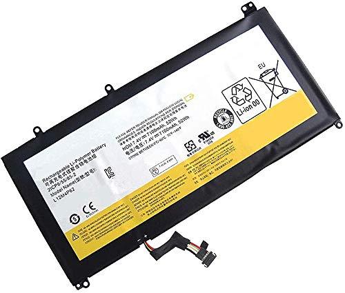WXKJSHOP Batería de repuesto compatible con Lenovo Ideapad U430 U530 U430P U430T U530P U530-20289 U300T L12M4P62 L12L4P62 2ICP6/55/85-2 121500163 7.4V 7.4V 100 mAh. 52 Wh.