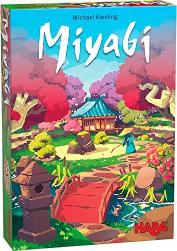 HABA 305251-Miyabi-ESP, colocación táctica para Jugadores a Partir de 8 años, Familiar del exitoso Autor del Juego del Año Michael Kiesling (Habermass 305251)