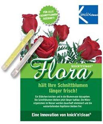 knick'n'clean Schnittblumen FRISCH Blumenfrische Frischhaltemittel Power Band, 4er Packung