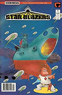 Star Blazers #2 VF ; COMICO comic book