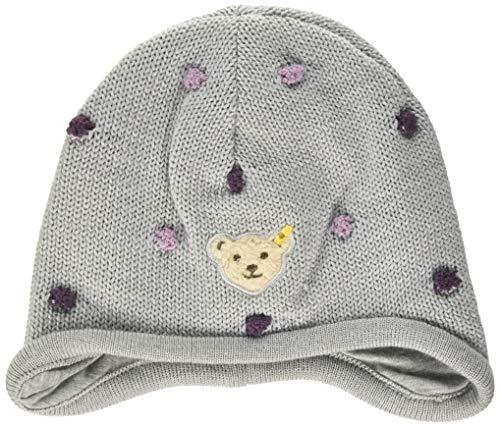 Steiff Baby-Mädchen Mütze, Grau (Quarry 9007), (Herstellergröße:41)