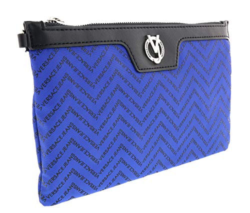 Versace Jeans EE3YTBP34 E202 Blue/Black Clutch for Womens