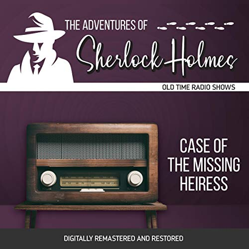 Couverture de The Adventures of Sherlock Holmes: Case of the Missing Heiress