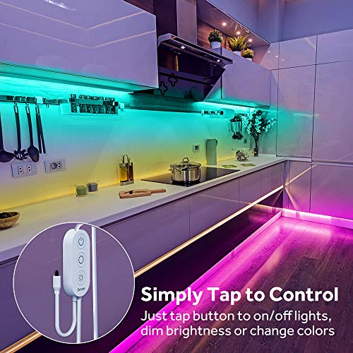 Govee Led Strip Lights, 65.6 Feet with Remote Control, RGB, for Bedroom, Ceiling, Kitchen 7