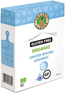 Organic Larder Baking Grated Coconut 250 g