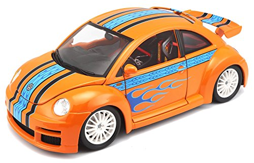 BBurago - 12058 - Voiture sans pile - Reproduction - New Beetle Cup - échelle 1/18