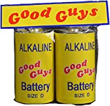 Child's Play 2 Toy: Good Guy's Battery Size D, by Trick Or Treat Studios, Pack of 2