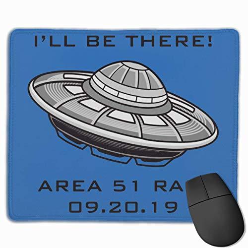 Gaming Mauspad,Mausunterlage,Spiel Maus Pad,Mausmatte,Area 51 Raid - Ich Werde Da Sein Mat Mous Mousepad Für Office Home Laptop Computer Pc