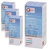 Original Bosch pastillas antical para Krups Cafetera y hervidor de agua (24unidades)