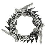 Pin de metal de Juego de Tronos, diseño de gusano gris