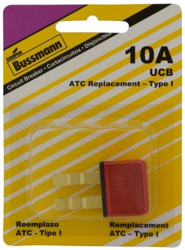 Bussmann (BP/UCB-10-RP) 10 Amp Type-I Universal Circuit Breaker