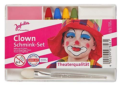 Karneval Schmink-Set - Clown