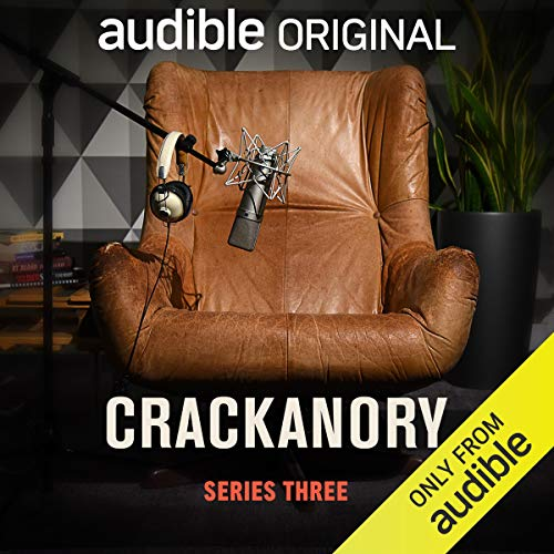 Crackanory (Series 3)                   By:                                                                                                                                 Nico Tatarowicz,                                                                                        Holly Walsh,                                                                                        Melissa Bubnic,                   and others                          Narrated by:                                                                                                                                 Christopher Lloyd,                                                                                        Robbie Coltrane,                                                                                        Carrie Fisher,                   and others                 Length: 2 hrs and 45 mins     9 ratings     Overall 4.8