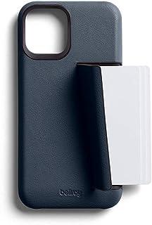 Bellroy Premium Slim Leather Phone Case - 3 Card (カードホルダー付き、iPhone12 Mini用) - Basalt