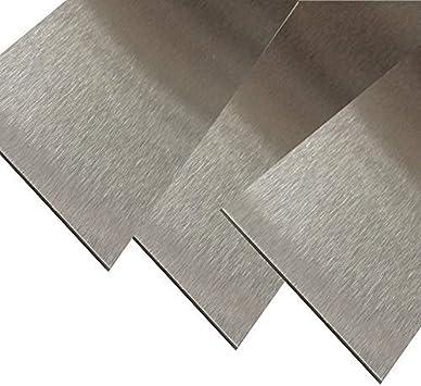 Edelstahl Blechstreifen 1000 30 mm Blechstreifen K240 geschliffen v4a 1,5mm stark Zierstreifen Blechzuschnitt Edelstahl Blende v4a Edelstahl Zierblende v4a Streifen