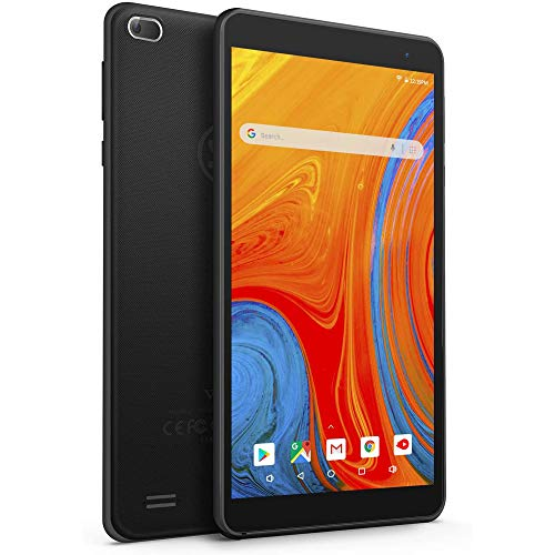 VANKYO Z1 Tablet 7 Pollici 32GB Espandibili Fino a 128GB con CPU Quad-Core, Android 8.1 IPS HD Display Wi-Fi Bluetooth Nero