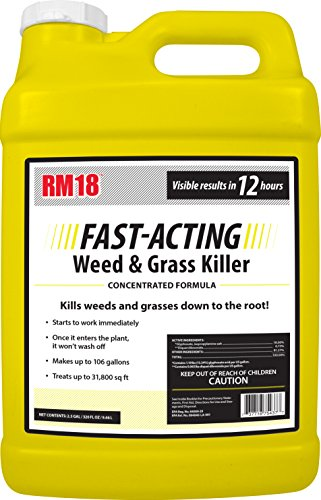 RM18 Fast-Acting Weed & Grass Killer Herbicide, 2.5-gallon -  RAGAN & MASSEY, 75437