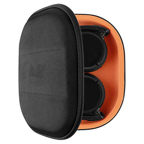 Geekria Headphones Case for Sony MDR-ZX100, ZX110, ZX300, ZX310, XB200, ZX102DPV, Sennheiser HD218, HD229, HD239 Headphones Hard Carrying Case / Travel Bag with Space for Cable, AMP, Parts and Accesso