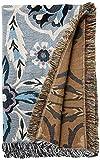 Vera Bradley womens Woven Throw Blanket D cor, Plaza Tile, 66 X 50 US