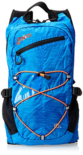 ASICS Speed Backpack, Atlantic/Flame Orange, All