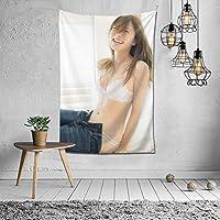 タペストリー 白石麻衣 インテリアおしゃれ壁掛け 壁飾り多機能 装飾布 ファブリック装飾用品 北欧風 装飾アート 模様替え 部屋 窓カーテン 新居祝い 150x100cm
