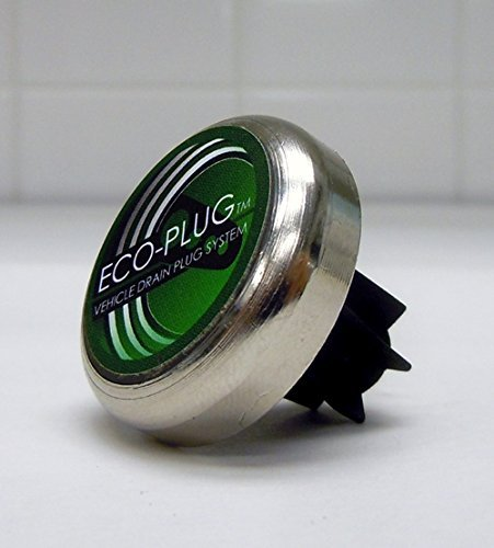 10MM – 14MM Magnetic Oil Drain Plug by ECO-PLUG, the Only Threadless...
