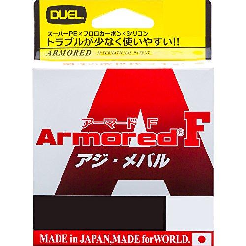 デュエル(DUEL) ライン: ARMORED F アジ・メバル 150M0.3号 O: オレンジ
