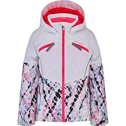 Spyder Conquer Unisex-Jacke für Kinder XL Mehrfarbig - Weiß (impress pr)