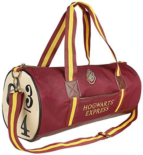 Groovy Harry Potter Hogwarts Express 9 & 3/4 Bolsa de Mano, Rojo, tamaño Mediano