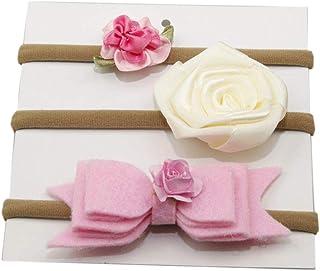 XueXian Headband Hair Band Hair Accessories for Newborn Infant (Beige)