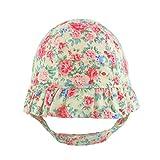 Pesci Baby Girls Bucket Sun Hat